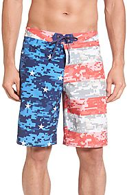 Vineyard Vines Flag Print Board Shorts $89.50 @ Nordstrom