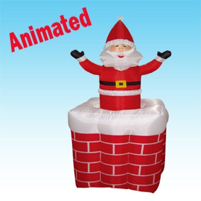 Funny Christmas Inflatable Yard Decorations: Animated Outdoor Christmas Decorations