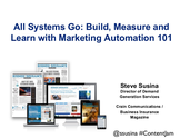 Content Jam 2013 Presentations | Steve Susina: All Systems Go: Build, Measure, Learn with Marketing Automation 101