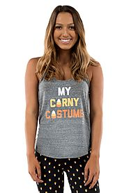 Women's My Corny Costume Tank Top @ Tipsy Elves