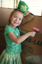 best paint for cardboard boxes | DIY Leprechaun House Made From Cardboard Boxes | Alpha Mom