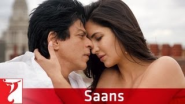 Top Songs from Shahrukh Khan Films | Saans - Song - Jab Tak Hai Jaan - YouTube