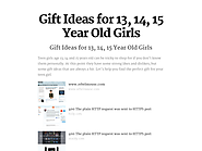 Best Gift Ideas For 14 Year Old Girls | Gift Ideas for 13, 14, 15 Year Old Girls