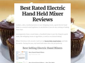 Best Rated Hand Mixer | Best Rated Electric Hand Held Mixer Reviews