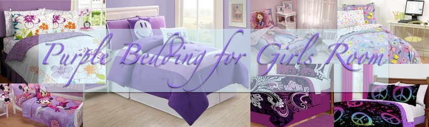 Purple Bedding for Girls Room