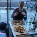 #ThinkTankOnTheRoad | #thinktankontheroad Loves his pizza does @brandactivist » 's instagram vanity url - Followgram.me