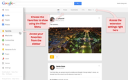 Google Plus Tools | Favorite Posts for Google+™