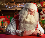 Come celebrate the magic of Christmas with Santa's Portable North Pole console.