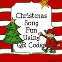 December Themed Technology Lessons | Christmas Songs using QR Codes