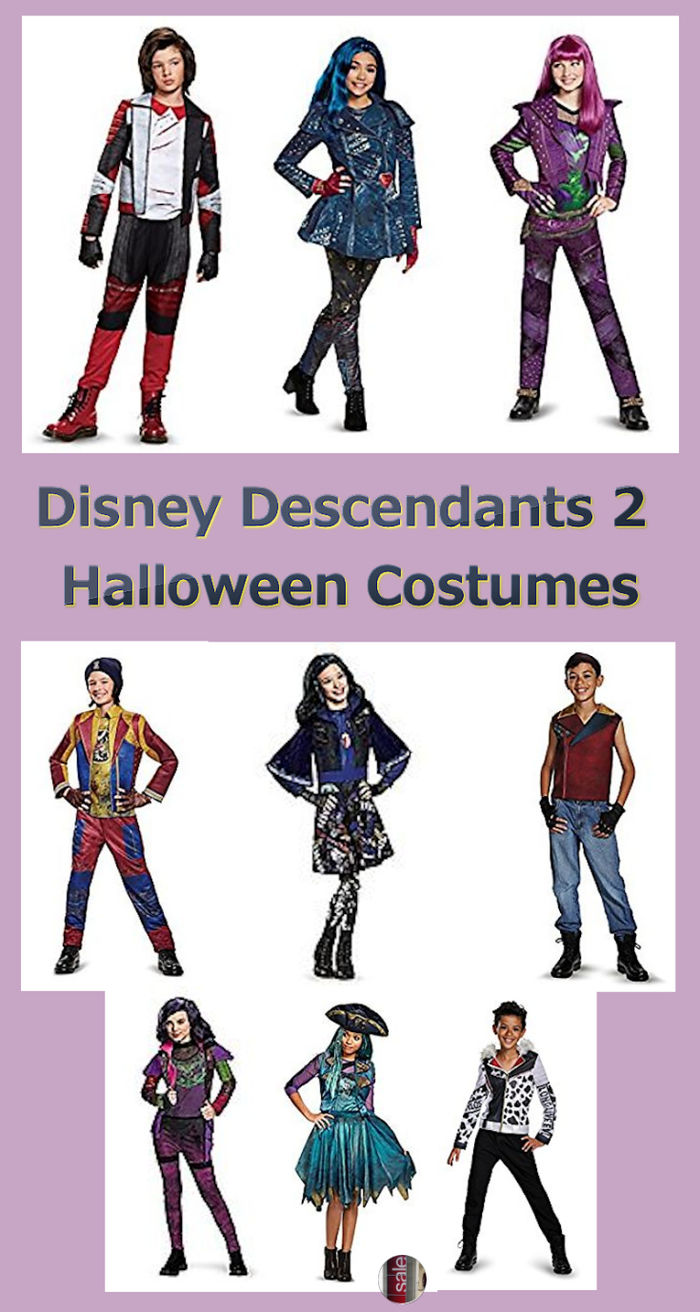 Disney Descendants 2 Halloween Costumes | A Listly List
