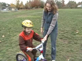 How To Teach a Toddler to Ride a Bike Without Training Wheels | Video #2