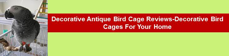 Decorative Antique Bird Cages