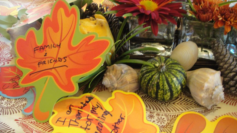 Thanksgiving Celebration Ideas