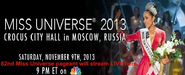 Watch 2013 Miss Universe Live Online Stream HD