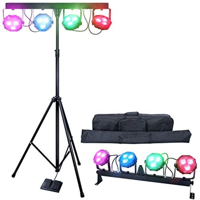 top 10 best led dj stage lighting packages a listly list. Black Bedroom Furniture Sets. Home Design Ideas