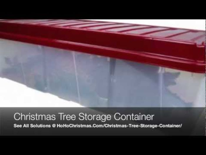 Artificial Christmas Tree Storage Box | A Listly List
