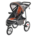 Best Rated Jogging Strollers | Graco FastAction Fold Jogger Click Connect Stroller, Tangerine