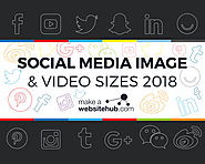 2018 Social Media Image Sizes Cheat Sheet - Make A Website Hub