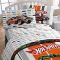 Hot Wheels Bedroom Ideas | Hot Wheels Full Bed Sheet Set