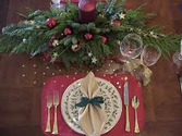 Table Settings For The Holidays | Table Settings For The Holidays