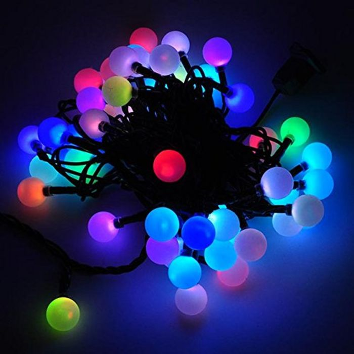 top 10 best color changing led christmas lights a listly list. Black Bedroom Furniture Sets. Home Design Ideas