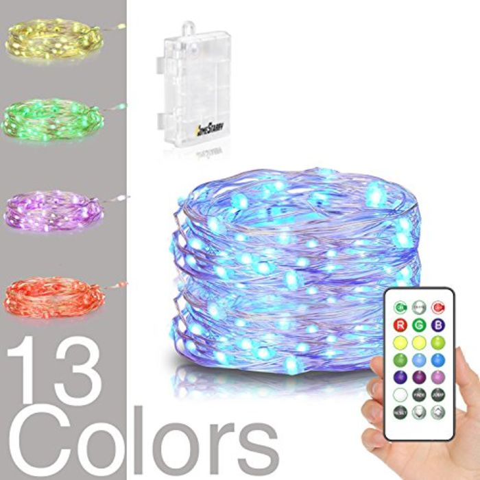 Mini Christmas Lights 10 Count