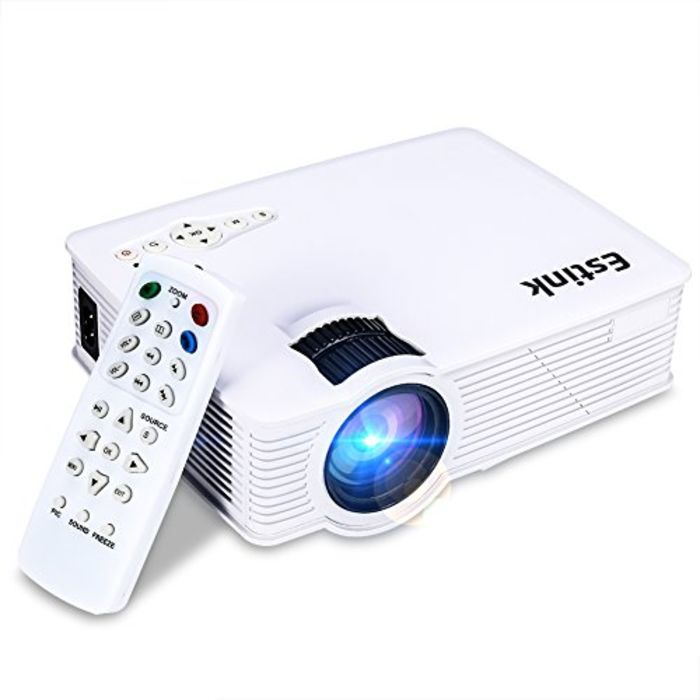 Top 10 best mini portable led projectors a listly list for Best small hd projector
