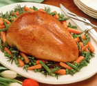 Diabetic Friendly Thanksgiving Dinner Recipes | Turkey Breast with Honey-Mustard Glaze