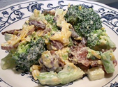 BROCCOLI CRUNCH SALAD - Linda's Low Carb Menus & Recipes