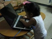 HP Laptop usage by a toddler