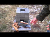 Homemade Rocket Stoves | How to build a better brick rocket stove for $10