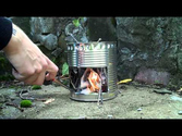 Homemade Rocket Stoves | How to...make a Hobo stove! HD