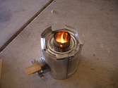Homemade Rocket Stoves | How to make a Rocket Stove from a #10 Can and 4 Soup cans