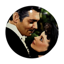 Gone With The Wind Gifts | Gone with the wind Ornament round porcelain Christmas Great Gift Idea