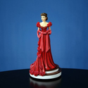 Gone With The Wind Gifts | Gone With The Wind Scarlett's Red Dress Figurine by San Francisco Music Box