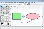 Dia draws your structured diagrams: Free Windows, Mac OS X and Linux version of the popular open source program