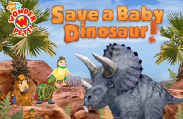 Wonder Pets Save a Baby Dinosaur! - YouTube
