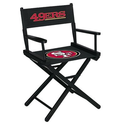 Man Cave Furniture Ideas | Man Cave NFL San Francisco 49ers Table Height Directors Chair