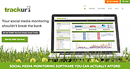 Social Media Tools for Listening and Monitoring | Social Media Monitoring Tools & Sentiment Analysis Software | Trackur