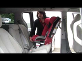 Best Rated Car Seats 2013-2014 | Install Diono Radian® Car Seat Rear-facing with Lap/Shoulder Belt