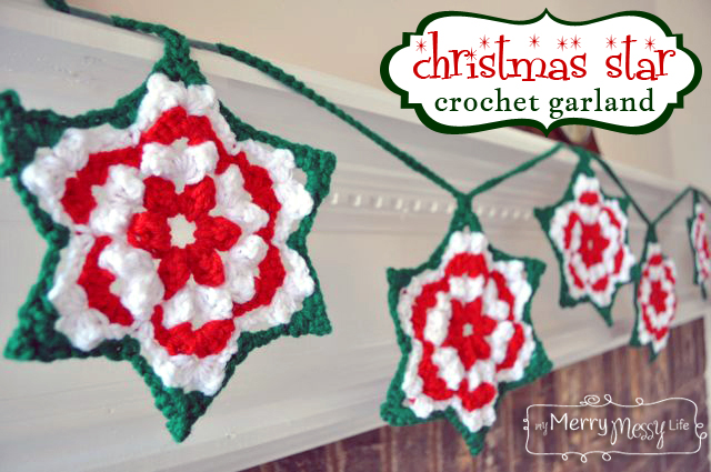 Christmas Crochet Garland Patterns - Free A Listly List