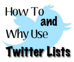 The How and Why of Twitter Lists