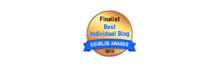Best Individual Blog 2013 - Edublog Awards