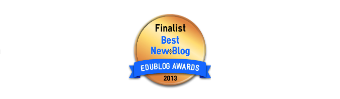 Best New Blog 2013 - Edublog Awards