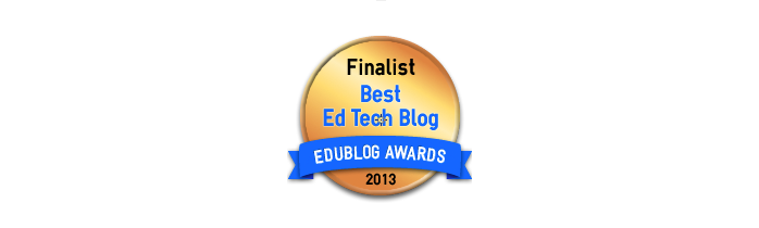 Best Resource Sharing / Ed Tech Blog 2013 - Edublog Awards