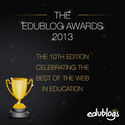 Best Teacher Blog 2013 - Edublog Awards | Kevin's Meandering Mind