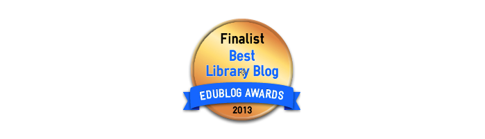Best Library / Librarian Blog 2013 - Edublog Awards