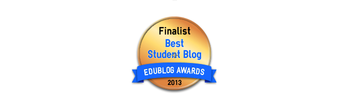 Best Student Blogs 2013 - Edublog Awards