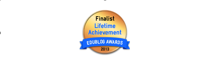 Lifetime Achievement 2013 - Edublog Awards