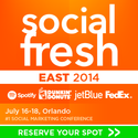 The Best Marketing Conferences of 2014 | Social Fresh EAST 2014